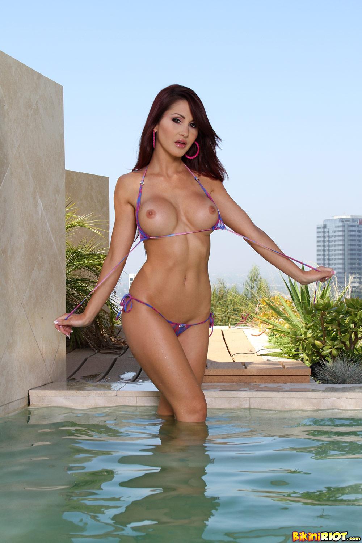 Bikini model porn sexy
